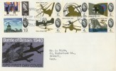 1965 Battle of Britain Phosphor set with Philatelic Bureau H/S