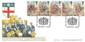 1989 The Lord Mayor's Show, Christ's Hospital Horsham FDC, 800th Anniversary The Lord Mayor City of London EC H/S