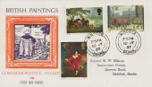 1967 British Paintings, Philart FDC, Windsor Berks. cds