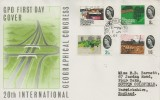 1964 Geographical Congress, GPO FDC, Sutton Coldfield cds.