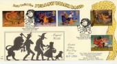 1998 Magical Worlds 4d Post Official Yellow Brick Road FDC