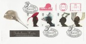 2001 Fabulous Hats, Royal Mail FDC, UK Headwear Meter Mark, Ascot H/S.