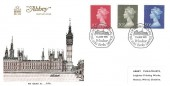 1970 10p, 20p & 50p Large Format Decimal Definitive Issue, Abbey FDC, First Issue of British Decimal Stamps Windsor H/S.