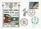 1983 Engineering, Dawn National Tramway Museum FDC, Institution of Mechanical Engineers London SW1 H/S.
