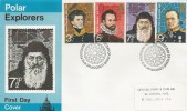 1972 Polar Explorers, Cathedral Stamps & Coins Henry Hudson FDC, First Day of Issue London WC H/S.