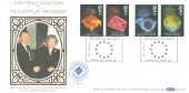1989 Anniversaries, Benham BLCS41b Official FDC, Third Direct Elections to the European Parliament Downing St. London SW.