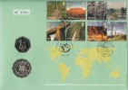 2005 World Heritage Sites, Joint Issue British & Australian FDC.