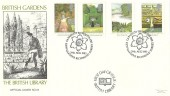 1983 British Gardens, British Library FDC No.44, Capability Brown 1715 - 1783 Kew Gardens Richmond Surrey H/S.