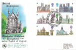 1969 British Cathedrals, Wessex Winchester Cathedral FDC, Philatex St.Paul's London EC H/S