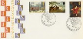 1967 Paintings with Art on stamps Exhibition Strand London WC2 H/S