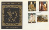 1968 British Paintings, Scarce Illustrated FDC, London EC FDI.