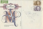 1973 Royal Wedding, Captain Mark Phillips to Princess Anne, Scarce Special Delivery Illustrated FDC, Lower Edmonton B.O.N.9 cds.