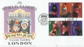 2001 Punch & Judy, Buckingham Official Cover No.11, The World Famous Punch & Judy Inn Covent Garden London WC H/S.