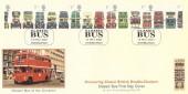 2001 Buses, Covercraft Official FDC, Classic Buses Edinburgh H/S.