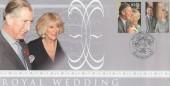 2005 Royal Wedding, Prince Charles & Camilla Parker Bowles, Steven Scott FDC, Royal Wedding Celebrations Windsor H/S.