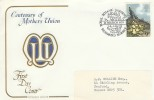 1979 British Flowers, Cotswold Covers Centenary of Mothers Union FDC, 9p Stamp only, Royal Botanic Gardens Richmond Surrey H/S.