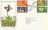 1964 International Botanical Congress Edinburgh, GPO FDC, Brockham GREEN Betchworth Surrey cds.