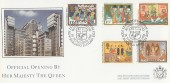 1986 Christmas, Covercraft Lloyd's of London Official FDC, Lloyd's of London New Building London EC3 H/S.