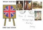 1968 British Paintings, Scarce Illustrated FDC, Barlby Yorkshire cds