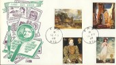 1968 British Paintings, Scarce Philart FDC, FPO 972 cds.