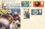 1967 British Discoveries, Connoisseur FDC, Plymouth FDI.