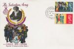 1965 Salvation Army, Rembrandt FDC, Fareham Hants. FDI.