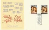 1986 Royal Wedding Fine Arts Debretts Official FDC