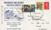 1965 Salvation Army, Portsmouth and District Philatelic Society FDC, Portsmouth FDI.