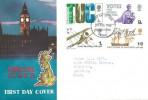 1968 British Anniversaries, Connoisseur FDC, Folkestone Kent FDI.