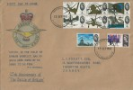 1965 Battle of Britain, Superb Hand Illustrated FDC, Croydon FDI.