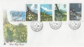1979 British Wild Flowers, Mercury FDC, St. Martin's Isle of Scilly cds.