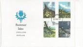 1979 British Wild Flowers, Summer Isles Highlands Scotland, Inverness FDI