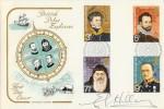 1972 Polar Explorers. Signed by Sir Edmund Hillary