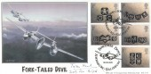 2001 Occasions, BHC Fork-Tailed Devil Official FDC, Boscombe Down Amesbury Salisbury H/S, Signed by Tom Neil.