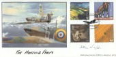 1999 Farmers' Tale, BHC The Hunting Party Official FDC, Supermarine Spitfire Biggin Hill Westerham H/S, Signed.