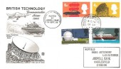 1966 British Technology Ordinary Set, with Macclesfield cds  FDC
