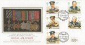 1986 Royal Air Force, PPS Silk No.26 FDC, Heathrow Airport Hounslow Middlesex H/S.