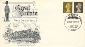 1968 4d & 1d from 4/6d Booklet, Stuart FDC, Macy's Newhaven British Festival Newhaven Sussex H/S.