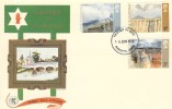 1971 Ulster Paintings, Wessex FDC, Pre-release dated 16th June 1970, one year early, Plymouth FDI.