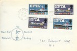 1967 European Free Trade Area, EFTA, The West End Central Philatelic Society FDC, Trafalgar Square cds.