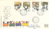 1979 Year of the Child, Post Office FDC, Playing Place Truro Cornwall cds + Cachet.