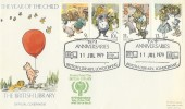 1979 Year of the Child, British Library Official No.10 FDC, 1979 Anniversaries British Library London WC H/S.
