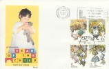 1979 Year of the Child, Philart FDC, Give a Child a Home Leeds Slogan.