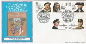 1982 Maritime Heritage,  Hawkwood Official FDC, Birthplace of Nelson Burnham Thorpe H/S.