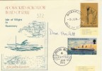 1973 Sponsored Solo Row For RNLI Isle of Wight to Guernsey. Signed Cover