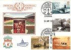 2001 Submarines, Dawn Official Liverpool FC Football FDC, League Champions Liverpool FC Museum & Tour H/S.