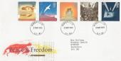 1995 VE Day, Royal Mail FDC, Windsor Castle cds.
