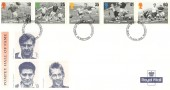 1996 Football Legends, Royal Mail Pompey Hall of Fame FDC, Portsmouth FDI.