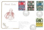 1982 British Textiles, Cotswold FDC, Midland TPO GG South 2 cds.