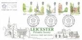1980 London Landmarks, Bradbury LFDC1 FDC, Leicester Philatelic Society Celebrate 75th Anniversary H/S.
